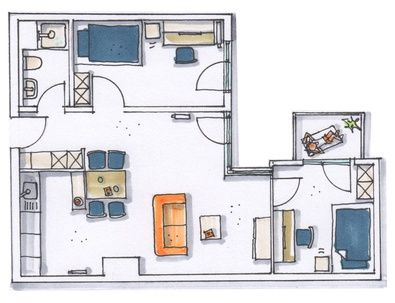 doppelapartment 3b