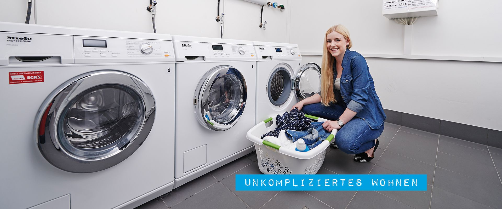 Unkompliziertes Wohnen in SPREEPLOLIS Appartements mit Waschküche und schönen Wohnungen